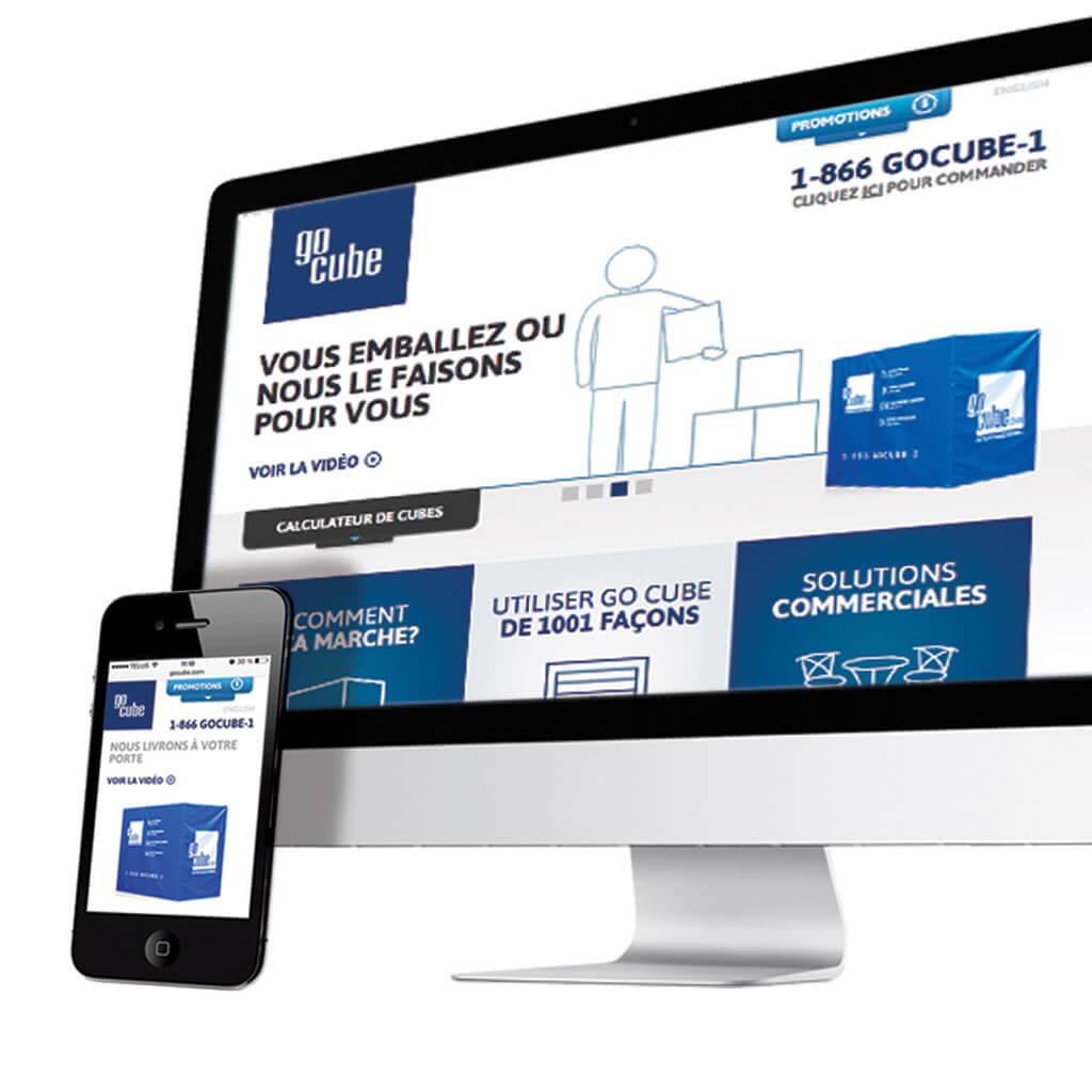 Go Cube site web