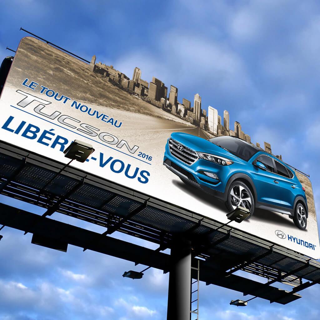 Hyundai panneau d'affichage