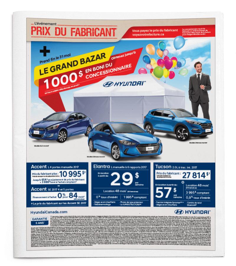Hyundai journaux